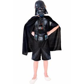 Fantasia Darth Vader Star Wars C/ Máscara, Capa + Sabre Luz