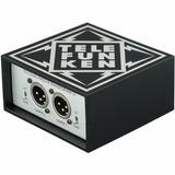 Telefunken Td-2 Caja Directa Pasiva De Doble Canal