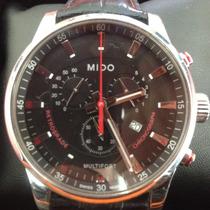 Reloj Mido Multifort Cuarzo Caratula 42 Mm Correa De Piel
