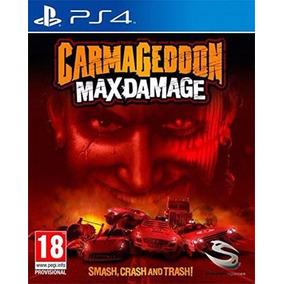Carmageddon Max Damage Ps4 Mídia Física Novo Lacrado