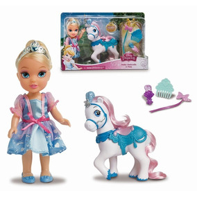 Boneca Minha Pequena Princesa Com Pônei Mimo Cinderela