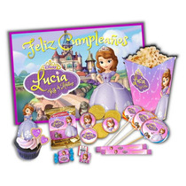 Kit Imprimible Princesa Sofia Invitaciones Candy Bar 2x1 !!