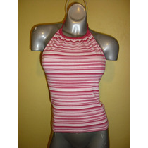Blusa Marca Gap Stretch Color Rosa Talla Chica