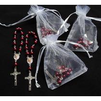 Denarios Papa Francisco Con Organza Lote De 10 Souvenirs