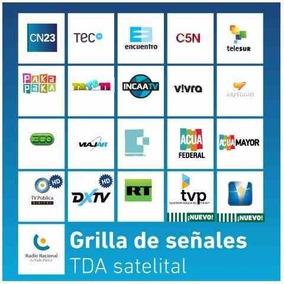 Kit Satelital Completo Tda X Arsat 1 Y Tupakfta Tv Gratis