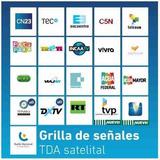 Kit Satelital Completo Tda X Arsat 1 Y Tupakfta Intervirus