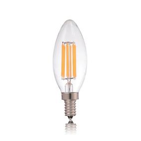 Kit 4 Lampadas Led E12 Amarela 220v