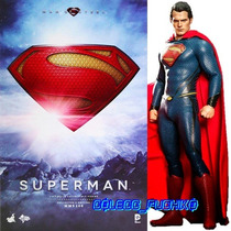Hot Toys Superman The Man Of Steel Hottoys Batman Vs Superma