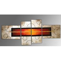 Cuadros Modernos Tripticos Decorativos Abstractos Roggero