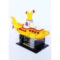 Yellow Submarine - The Beatles Em Resina - Submarino Amarelo