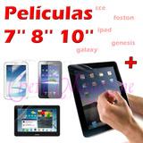 Pelicula Protetora Ipad Genesis Galaxy Foston Cce 7 8 10