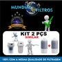 Refil Vela Filtro De Água Modelo Aqualar Ap 200 / Ef200