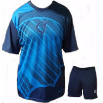 Conjunto Remera Short Bermuda Dry Fit Tenis Paddle Class One
