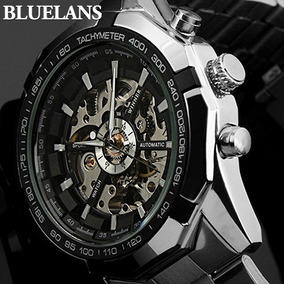 Relógio Masculino Importado Skeleton De Luxo