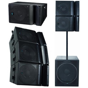 Sistema Line Array Esound Ml-15 700w - Das - Electro - Aero