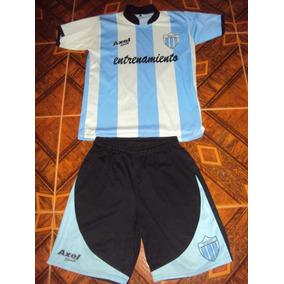 Camiseta + Short Fútbol Argentino Merlo T. S Selección Niño