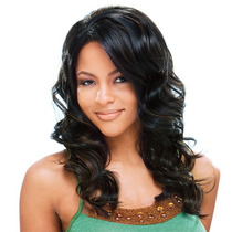 Peruca Lace Front Sintetica Freetreess Equal Meagan
