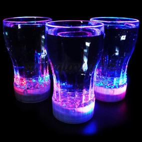 Vaso Luminoso Multicolor Coca Cola Led Tipo Ruleta 350 Ml