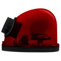 Giroflex Luz De Emergência Vermelho Sinalização Com Sirene