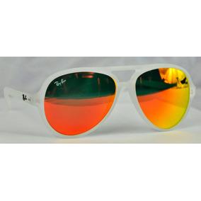 ray ban tornasol naranja