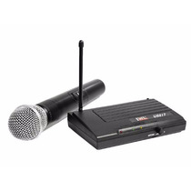 Microfone Sem Fio Profissional Jwl U-8017 Uhf P10 Como Shure