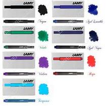 Cartuchos Lamy Pack X3 Cajas X5 Unidades/colores A Eleccion