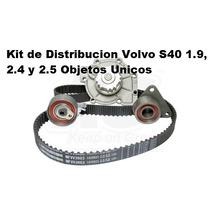 Kit Distribocion Con Bomba De Agua Volvo S40 1.9, 2.4 Y 2.5