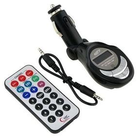 Nuevo Transmisor Fm Control Remoto Mp3/usb/sd Entrada 3.5
