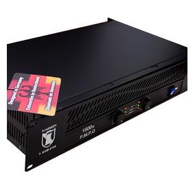 Amplificador Profesional Backstage 1500w 4 Salidas P/ Bafles