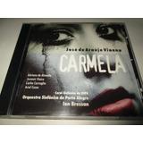Cd Jose De Araujo Vianna Carmela Coro Sinfonico Da Ospa