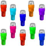Lampada Painel T5 Led Neon Pingo P/ Carro Moto Manometro 5mm