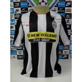Juventus Itália Home Sem Nº Tam. M 54x70 Oficial Nike Nova