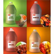 Salsa Original,kamikaze,mangohabanero,lemonpepper 4 Galones