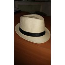 Sombrero Tipo Borsalino Talla Unica