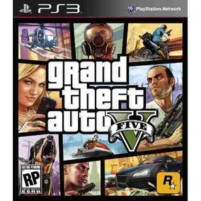 Grand Theft Auto V Gta 5 Ps3 Psn Envio Digital Imediato