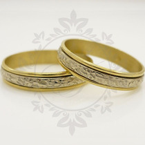 Alianzas Oro 18k 5 Grs El Par -anillos Compromiso-casamiento
