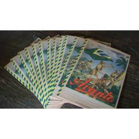 Lote De 10 Cadernos Antigos Avante