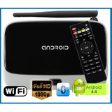 Tv Box Smart Pc Quad Core+ 16gb+ Full Hd+ Webcam+ Control