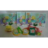 Coleccion Completa Bob Esponja Accesorios Kinder Año 2005