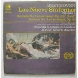 Beethoven Sinfonias N. 9 Sinfonia 2 2 Discos Lp Vinilo