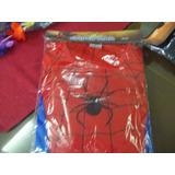 Disfraz Hombre Araña Spiderman Para Niños De 3, 5 Y 7 Años
