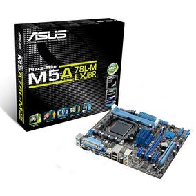 Placa Mae Asus Amd M5a78l-m Lx3 Am3+ Usb 2.0 Sata 3
