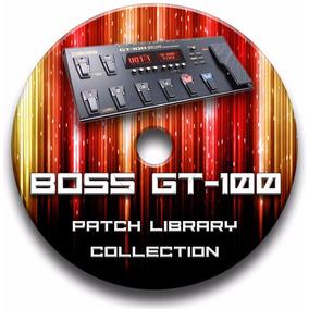 Boss Gt-100- Kit. 3.000 Patches Pré-programado Original
