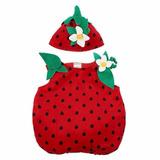Disfraz Frutillita 12 / 18 Meses - Importado Nuevo!!!!