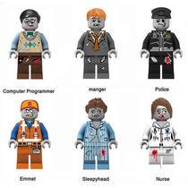 Lego Compatible Tierra De Zombies Incluye 6pz + Envió Gratis