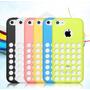 Protector De Silicona Para Iphone 5c Funda Colores