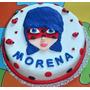 Torta Cumpleaños Infantiles Decoradas Caseras Ladybug
