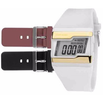 Relógio Mormaii Digital Kit Troca Pulseira Fzv/8z Original