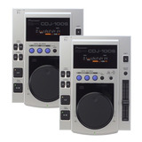 Par Cdj Pioneer 100-s + Mixer Gemini Ps-525 + Case