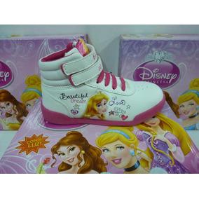 Disney Botas De Princesas Con Luces Talle 24